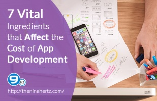 7 Vital Ingredients that Affect the Cost of App Development